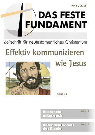 Das Feste Fundament 5/2015