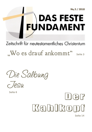Das Feste Fundament 3/2018